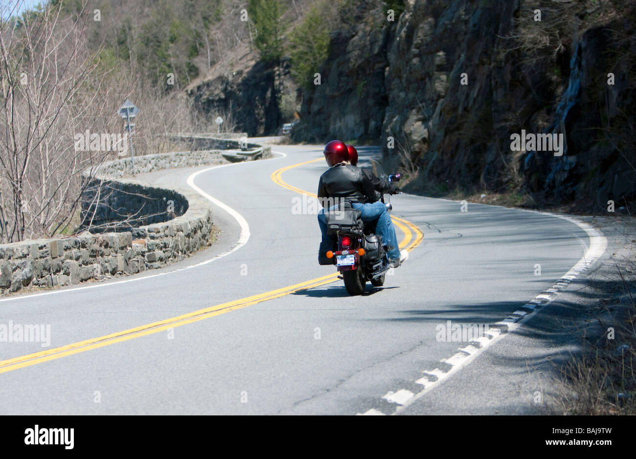 Curves new york Interior Motorcycle Riding The Curves At Hawks Nest New York Vh1com Motorcycle Riding The Curves At Hawks Nest New York Stock Photo