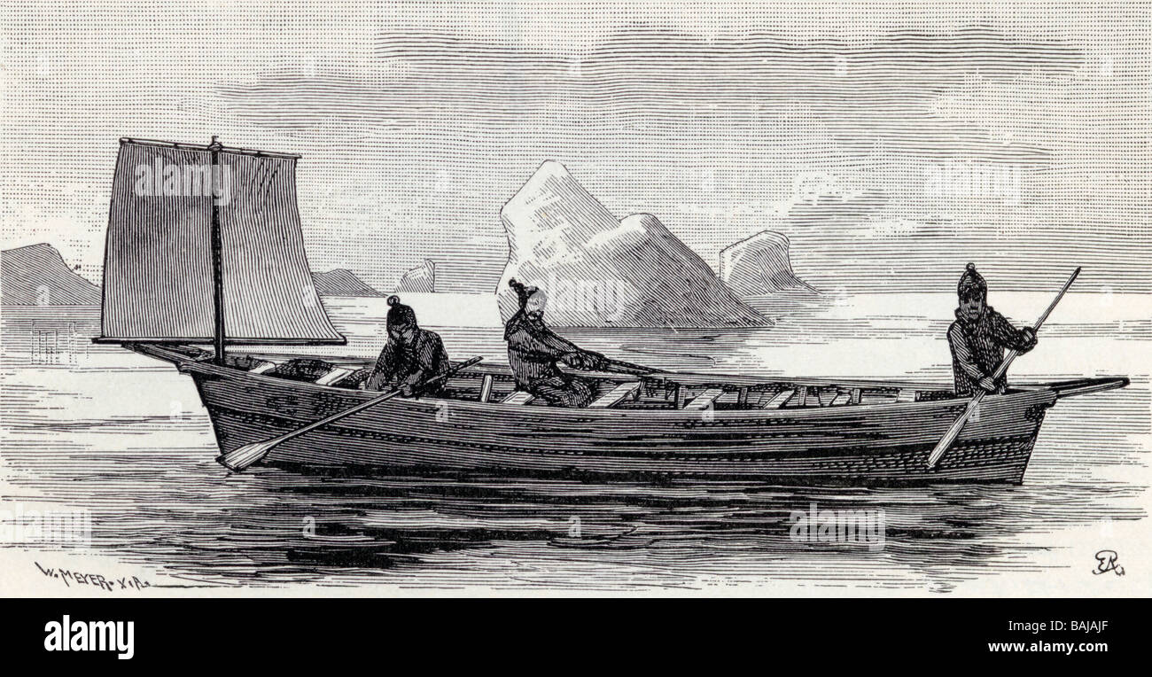 The Umiak Umiaq Umiac Oomiac Or Oomiak Is A Type Of Boat Used By Eskimo People