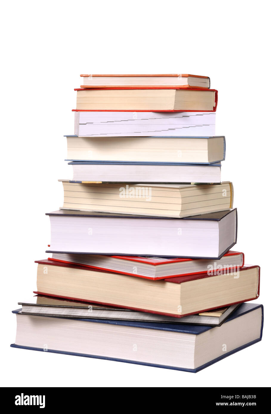 Books Stack - Stock Image