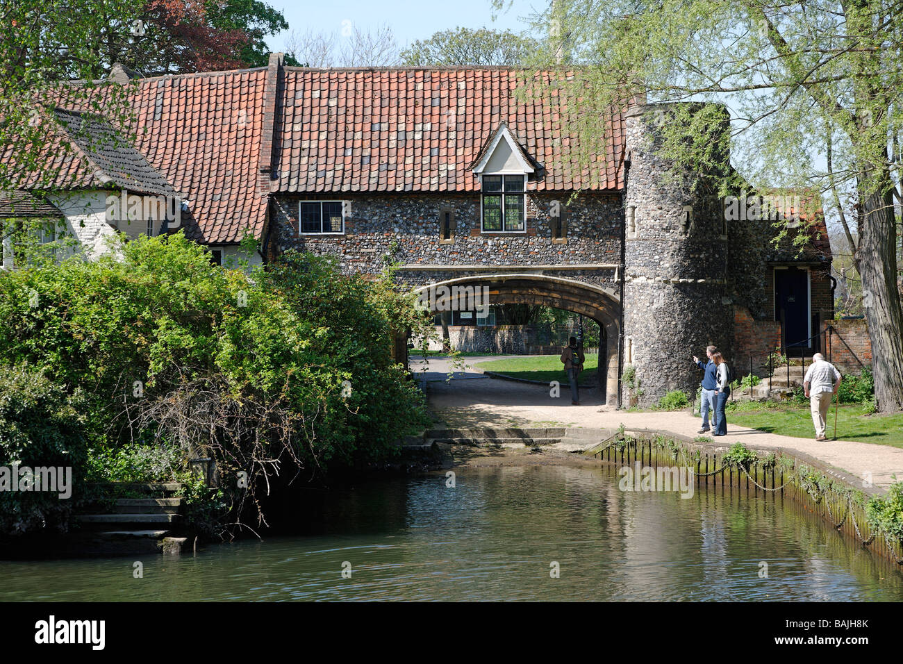 Pulls ferry Norwich England - Stock Image