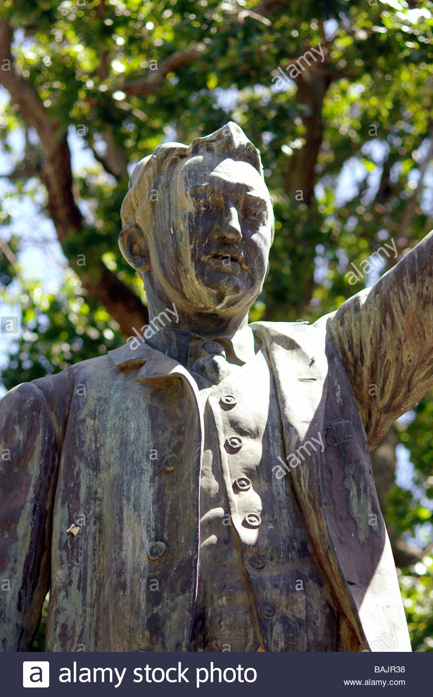 CECIL JOHN RHODES STATUE Cape Town South Africa - Stock Image