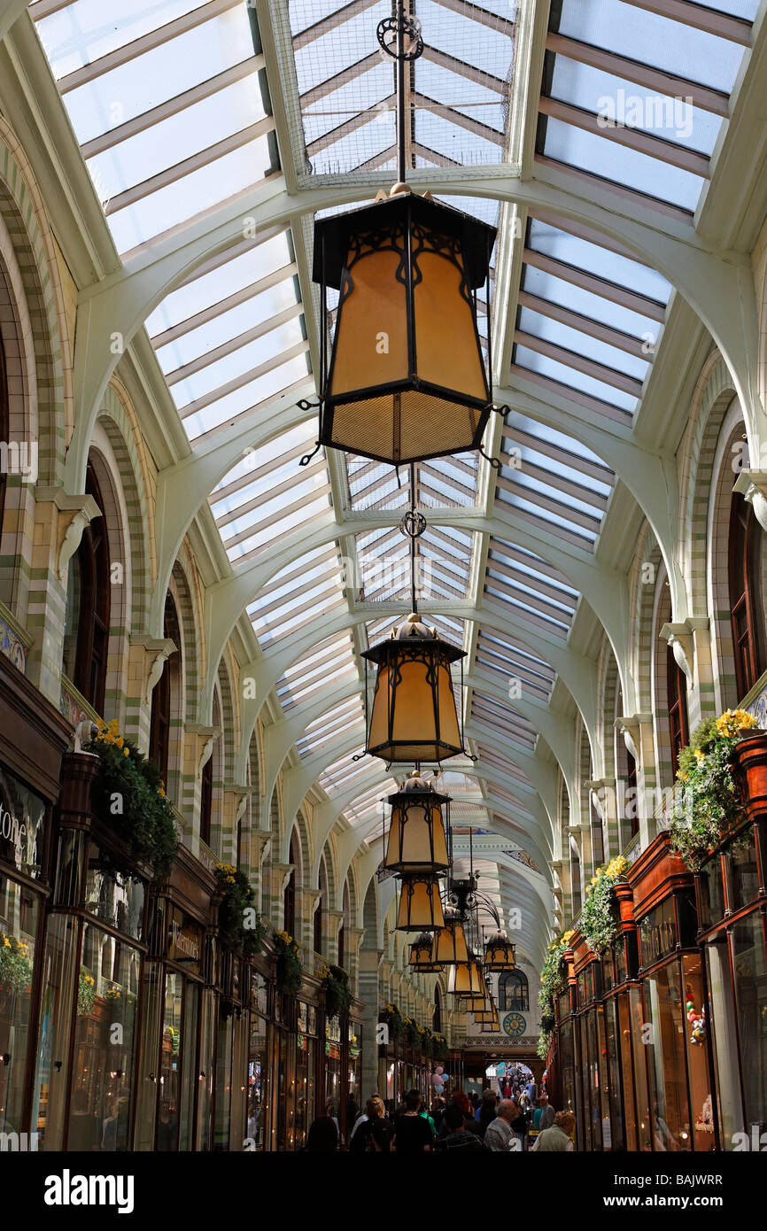 The Royal Arcade, Norwich, England - Stock Image