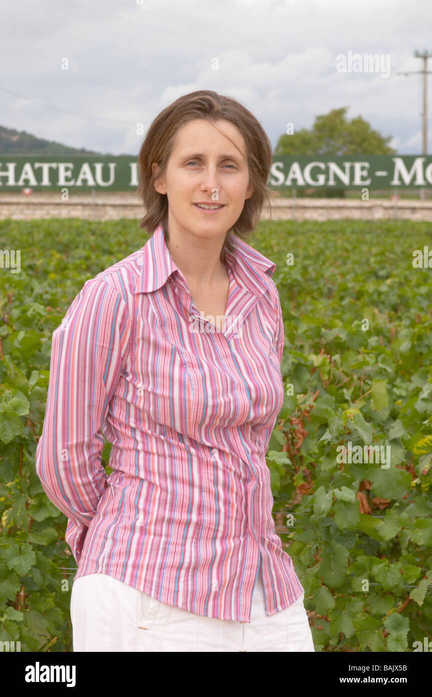 Xxx Picard Daughter Of Michel Dom M Picard Chateau De Ch M Chassagne Montrachet Cote De Beaune Burgundy France