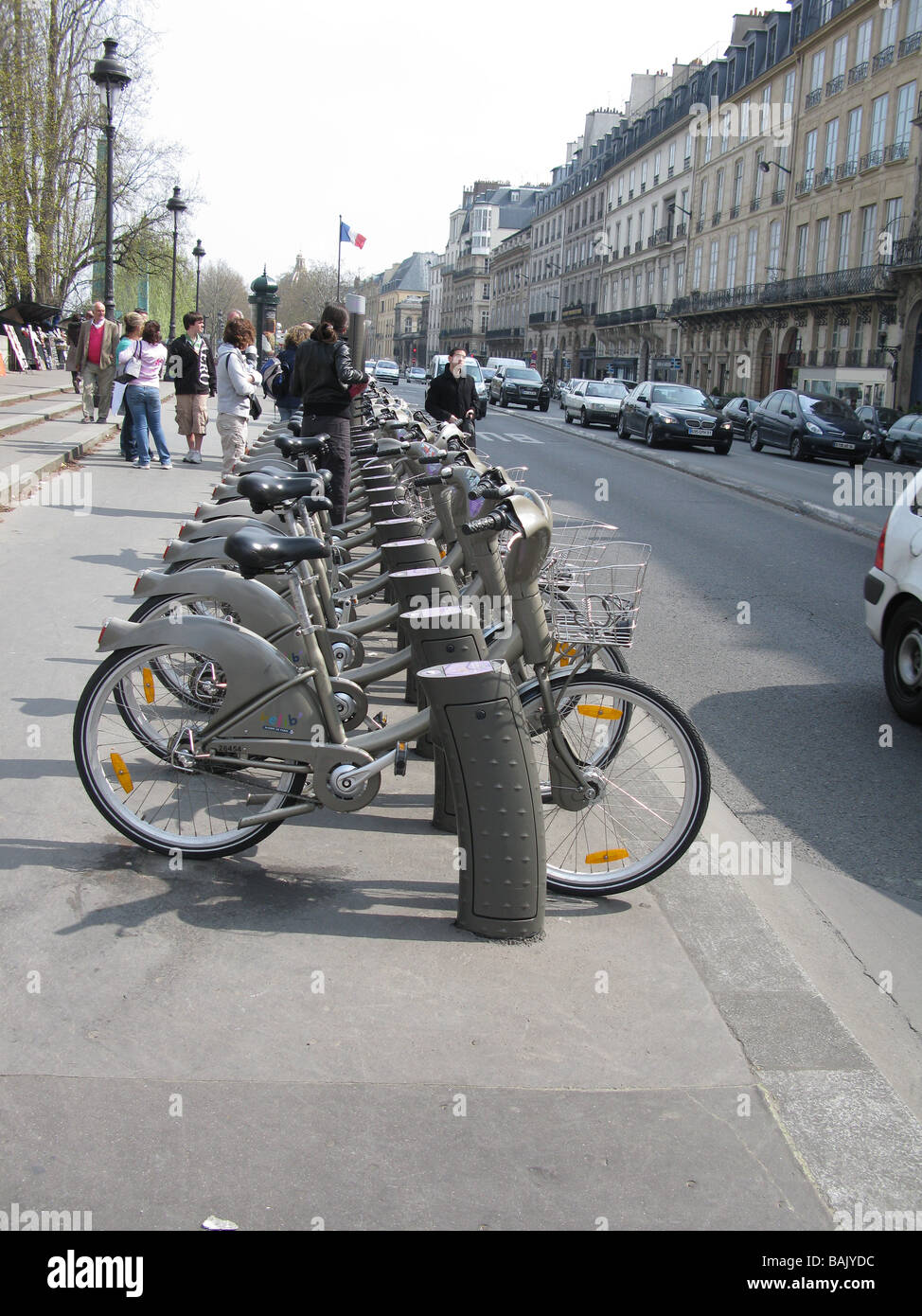 Velib Paris - Stock Image