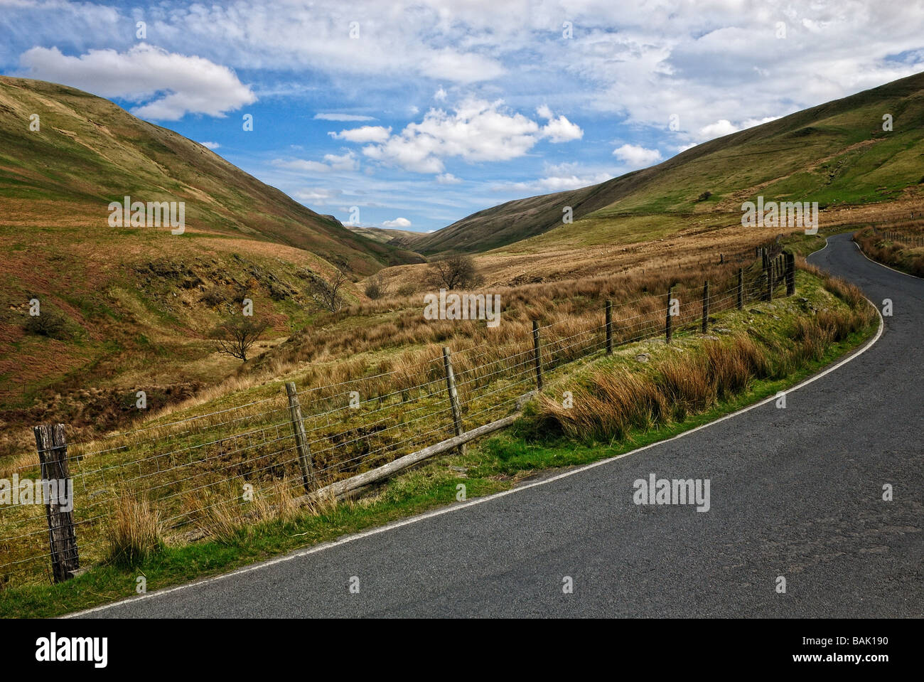 Elan Valley, Wales - Stock Image