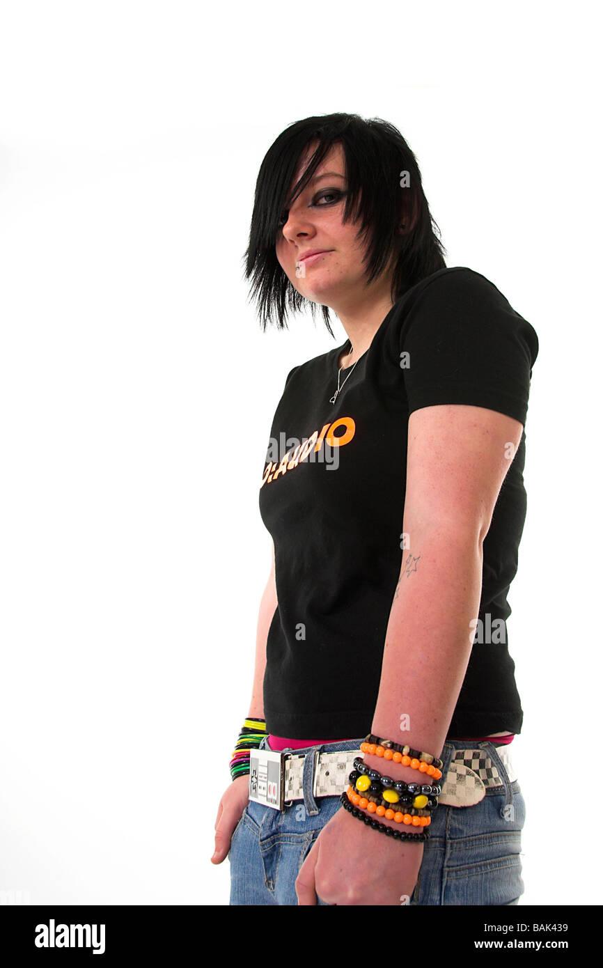6e2d22131ff4 Emo Teen Stock Photos   Emo Teen Stock Images - Alamy