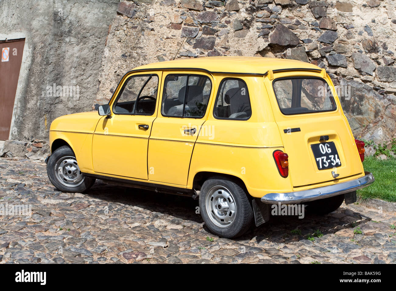 Old Renault 4 High Resolution Stock Photography And Images Alamy