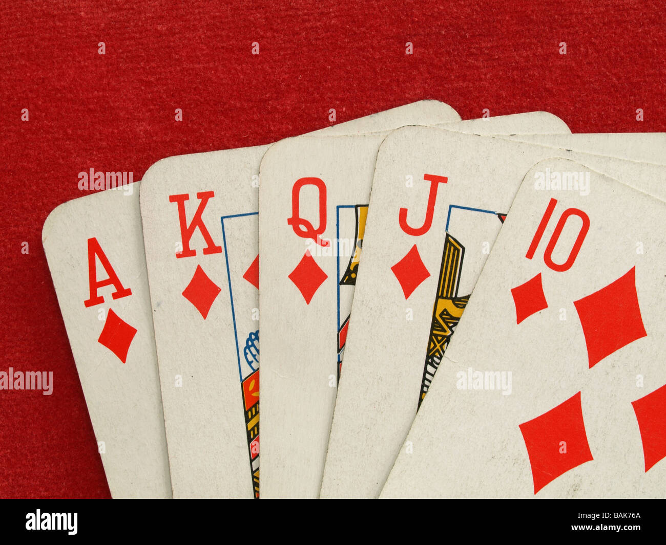 A Royal Flush Five Consecutive Face Cards Of The Same Suit Is The Best Possible Hand In Draw Or Stud
