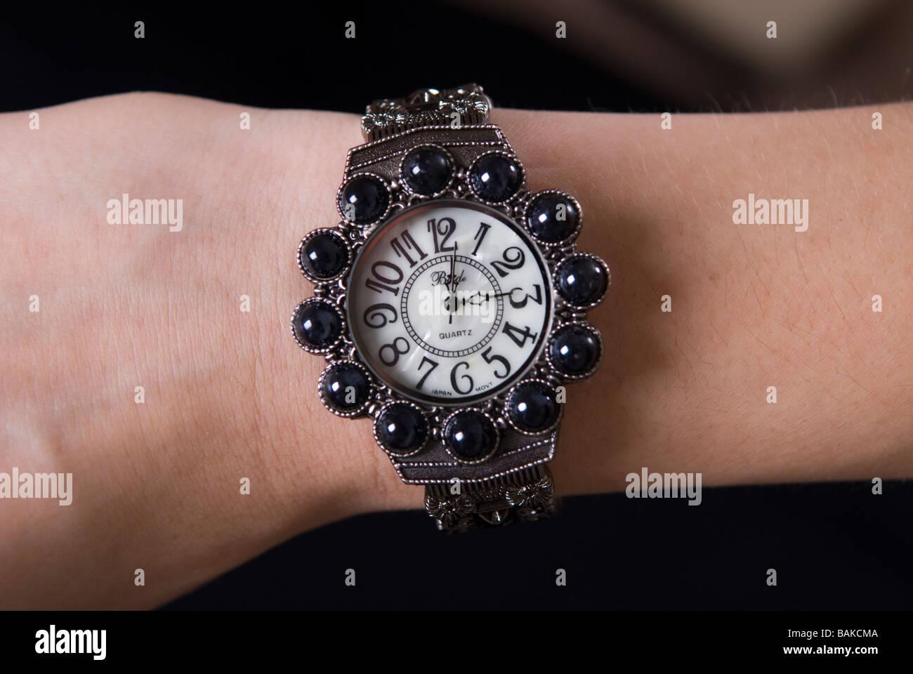 Asian wrist watch - Stock Image