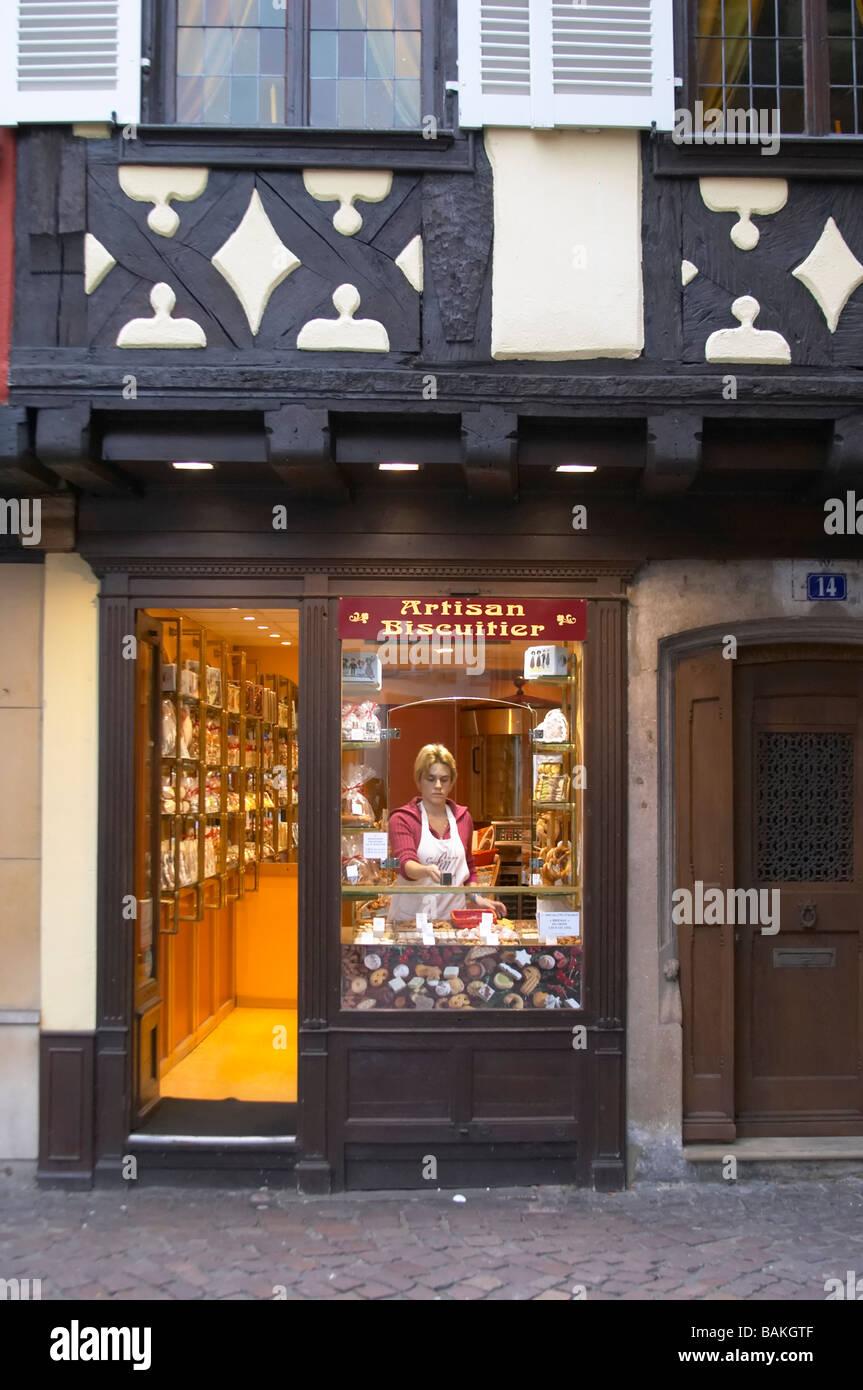 separation shoes 25483 b2038 patisserie shop colmar alsace france Stock Photo: 23787247 ...