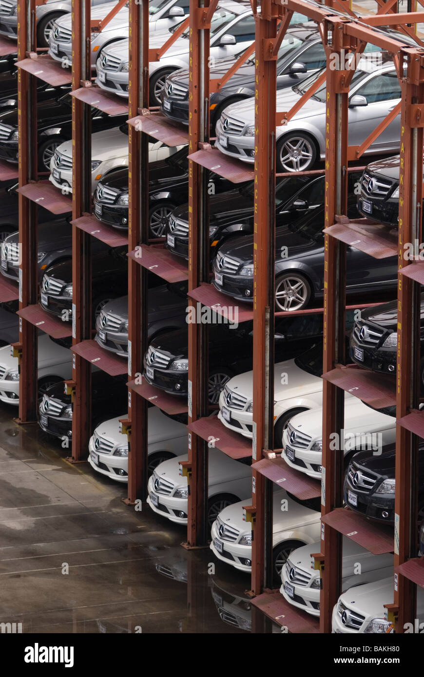 Luxury Cars Garage High Resolution Stock Photography And Images Alamy