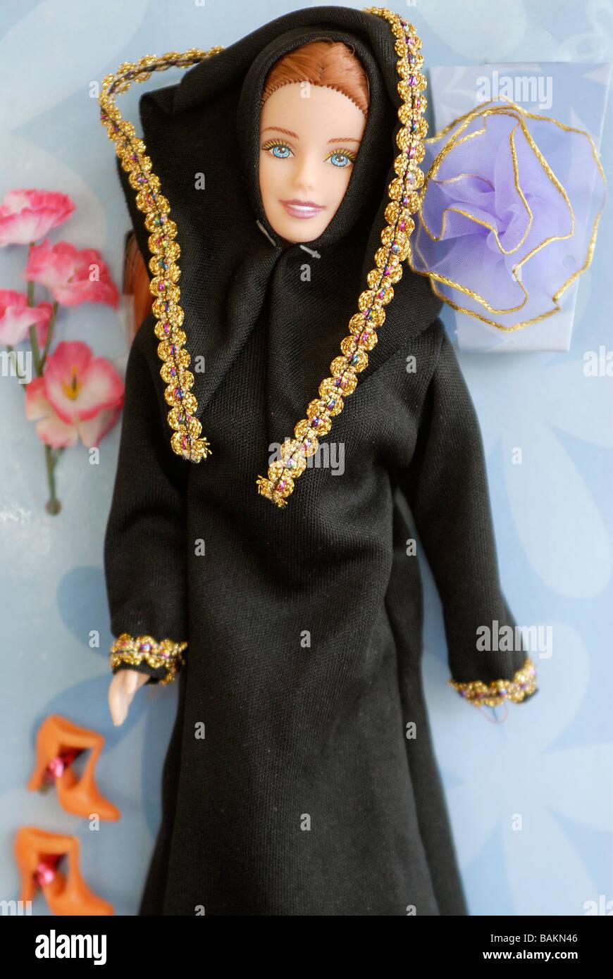 Middle Eastern barbie doll named Fulla, very popular in Arabic