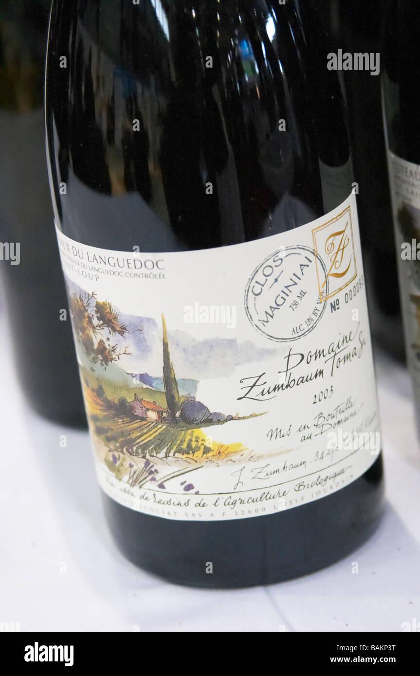 domaine zumbaum tomasi pic st loup languedoc france - Stock Image