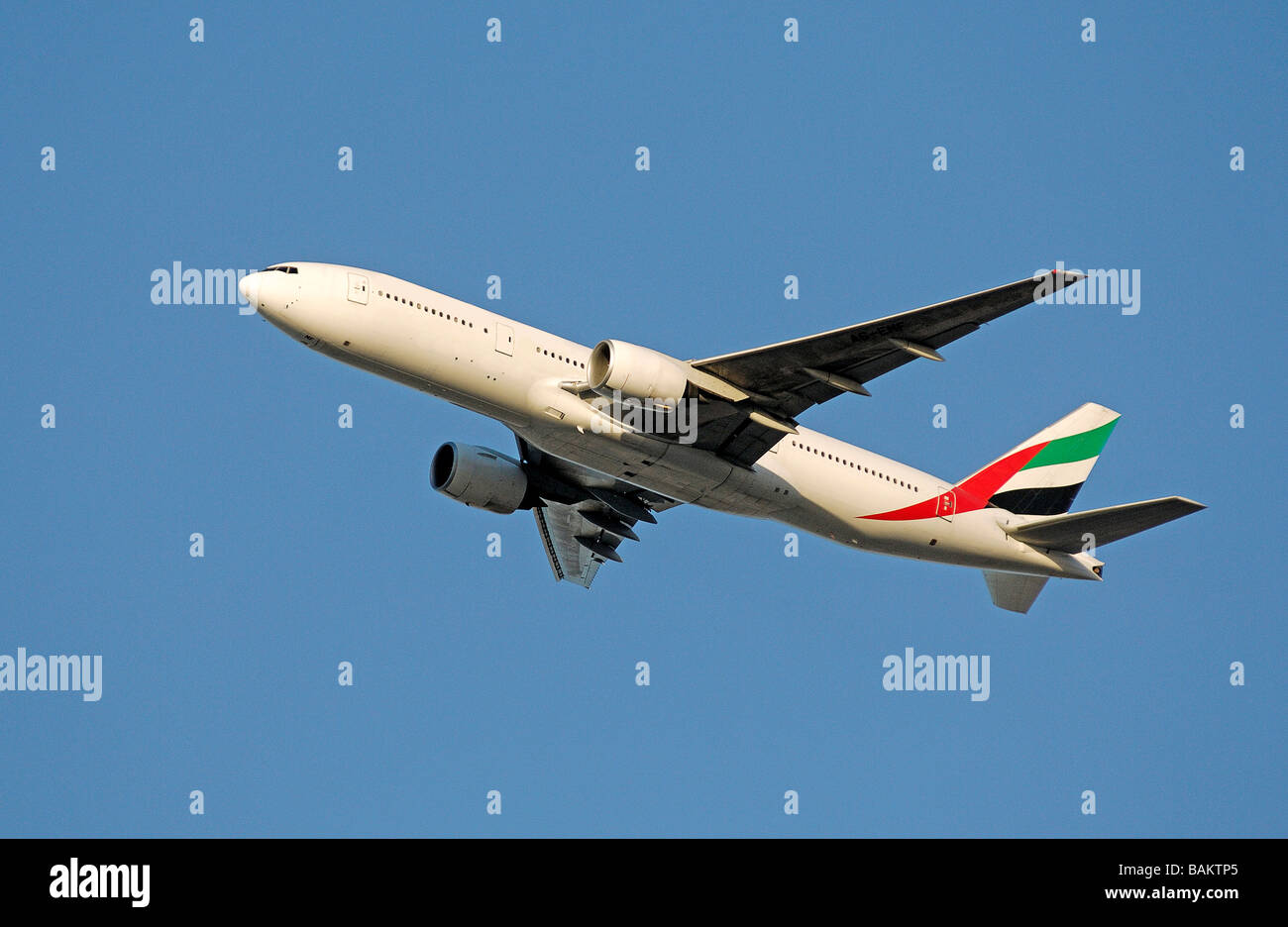 Emirates Airlines - Stock Image