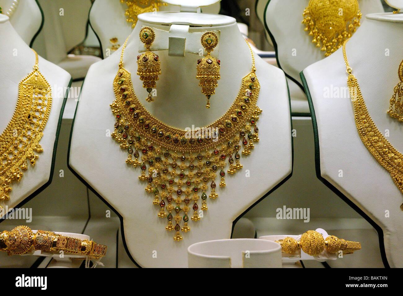 Dubai Souqs - Gold - Stock Image