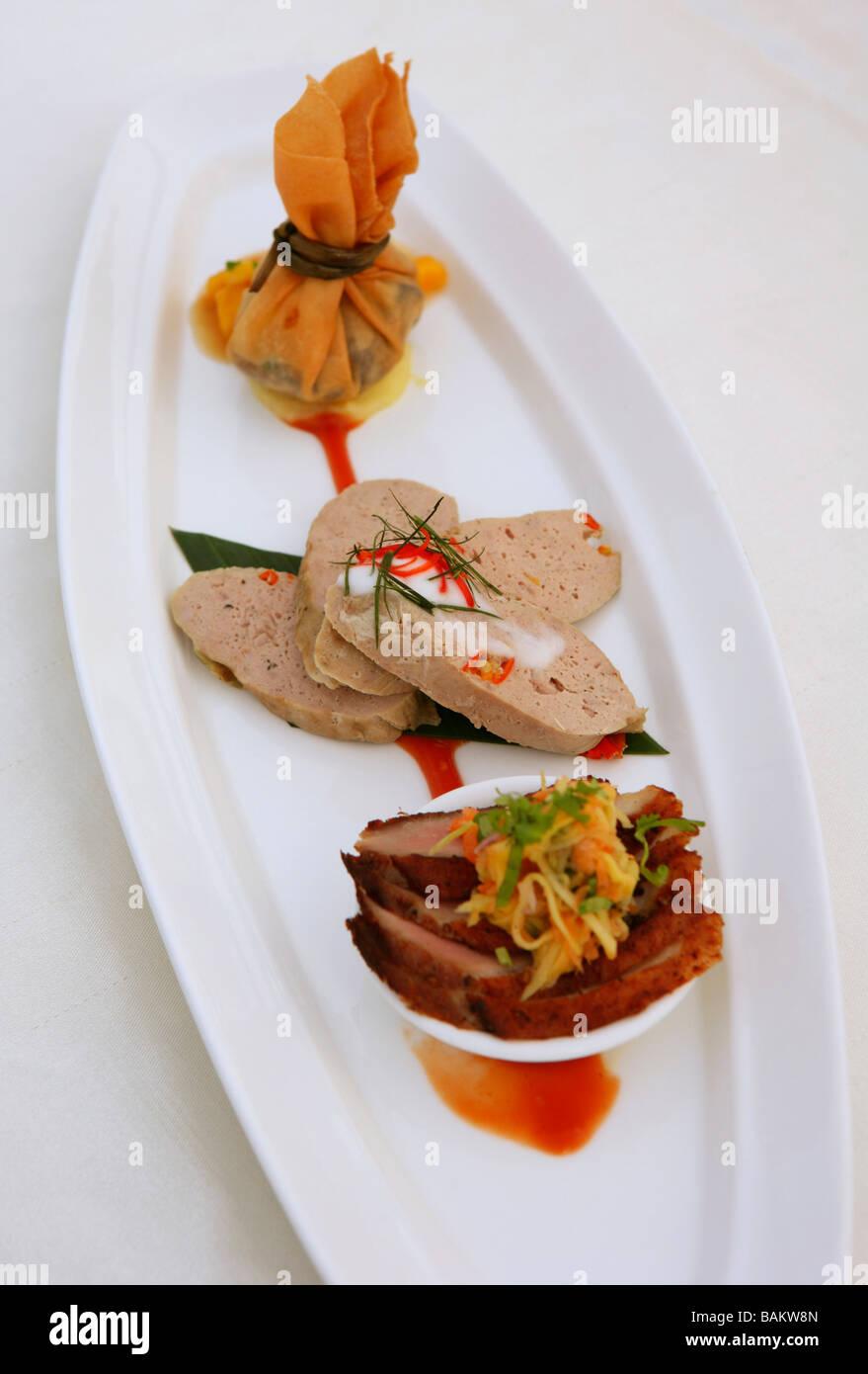 Vertigo restaurant, Bangkok, Thailand - Stock Image