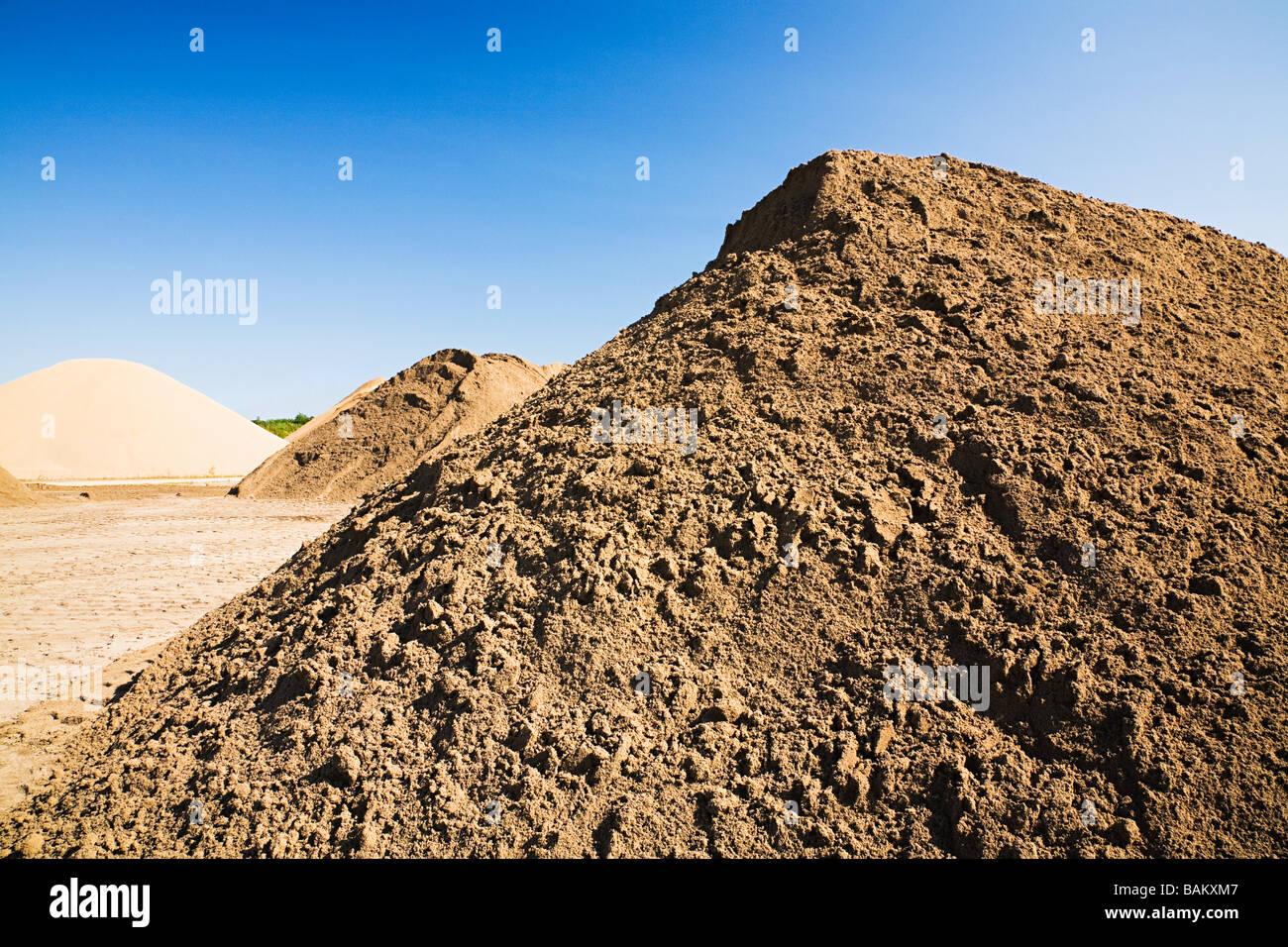 sand mounds