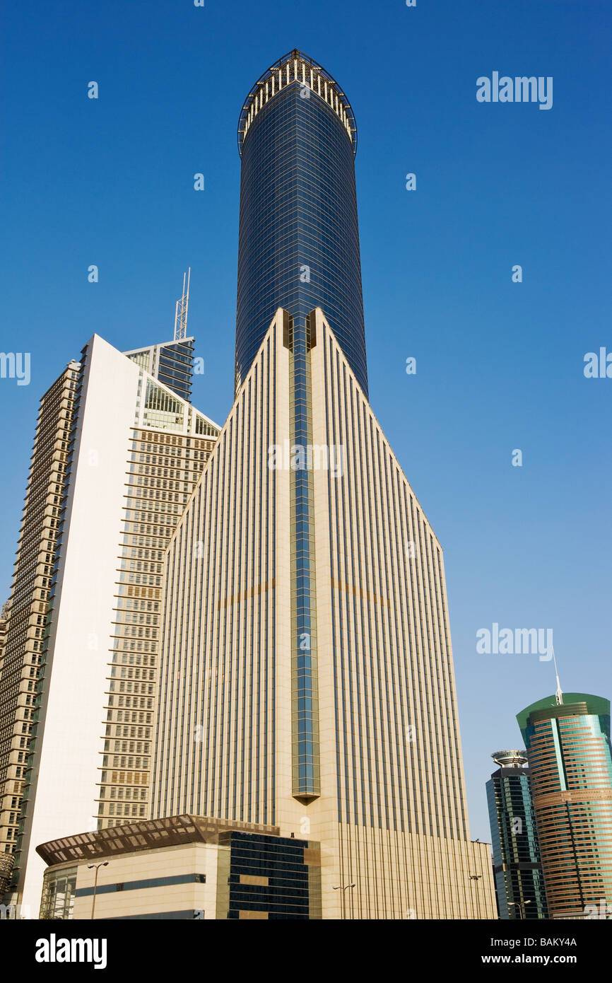 Office buildings in pudong - Stock Image