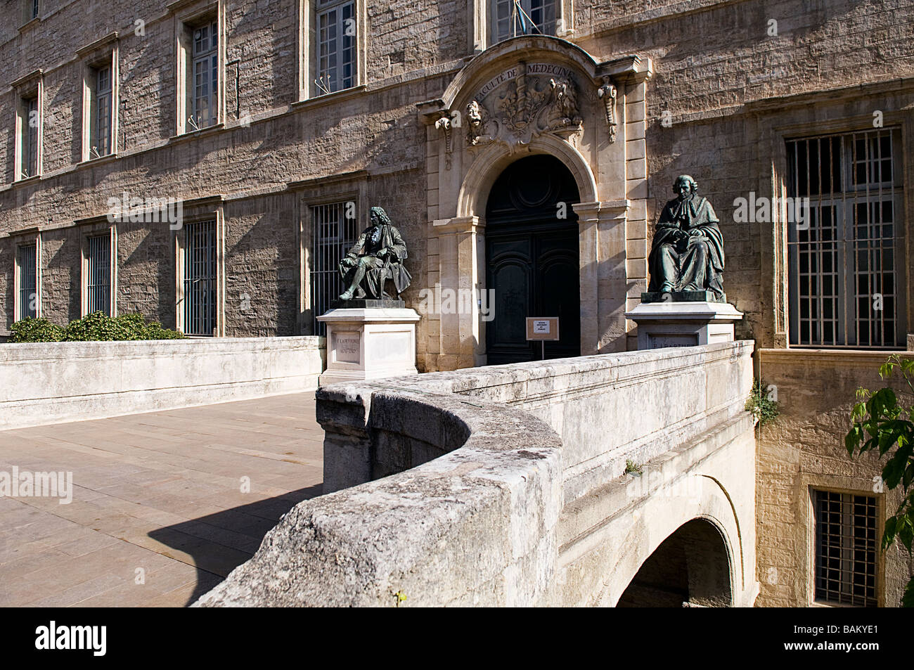 France, Herault, Montpellier, Medical school - Stock Image