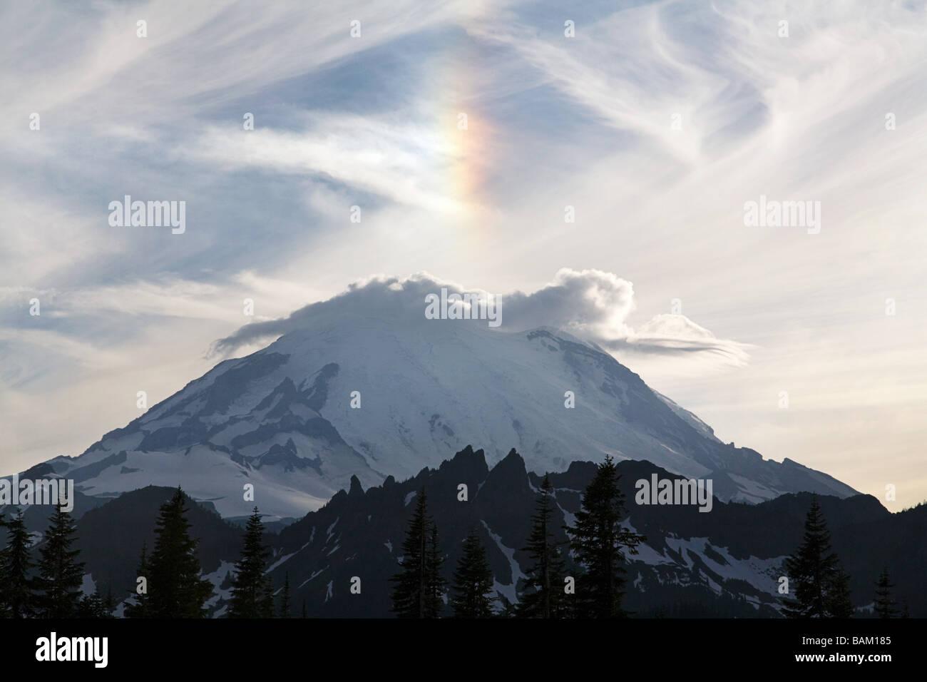 Mount rainier - Stock Image