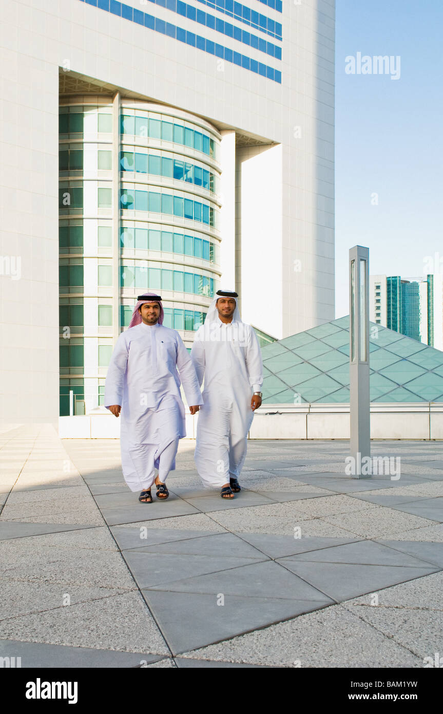 Middle eastern businessmen - Stock Image