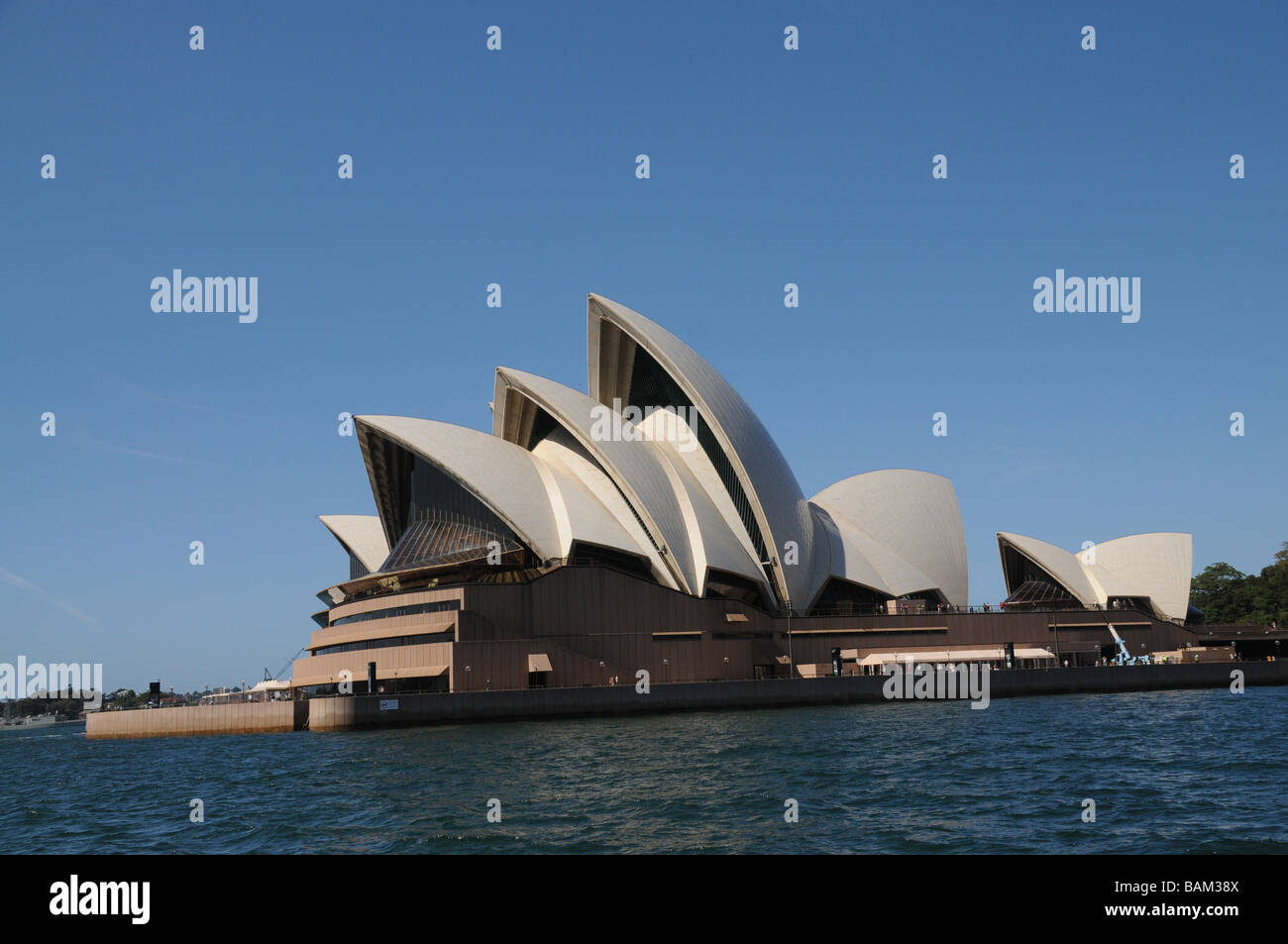Sydney, Australia, View of Opera House built in 2003, designed by Jorn Utzon, one of the word's most distinctive - Stock Image