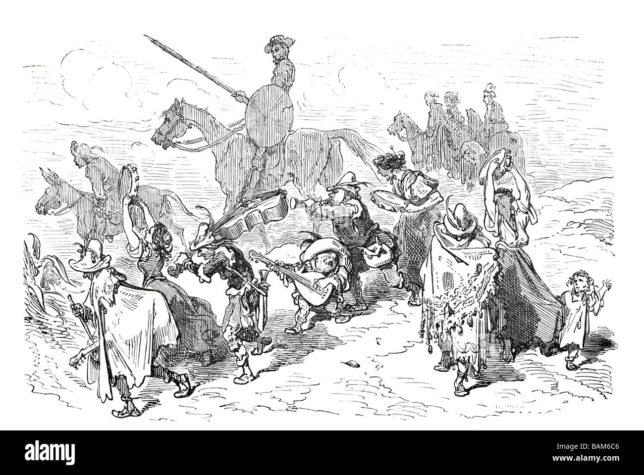 chapter XX 20 twenty Don quixote spanish novel Alonso Quixano Cervantes literature quest Stock Photo