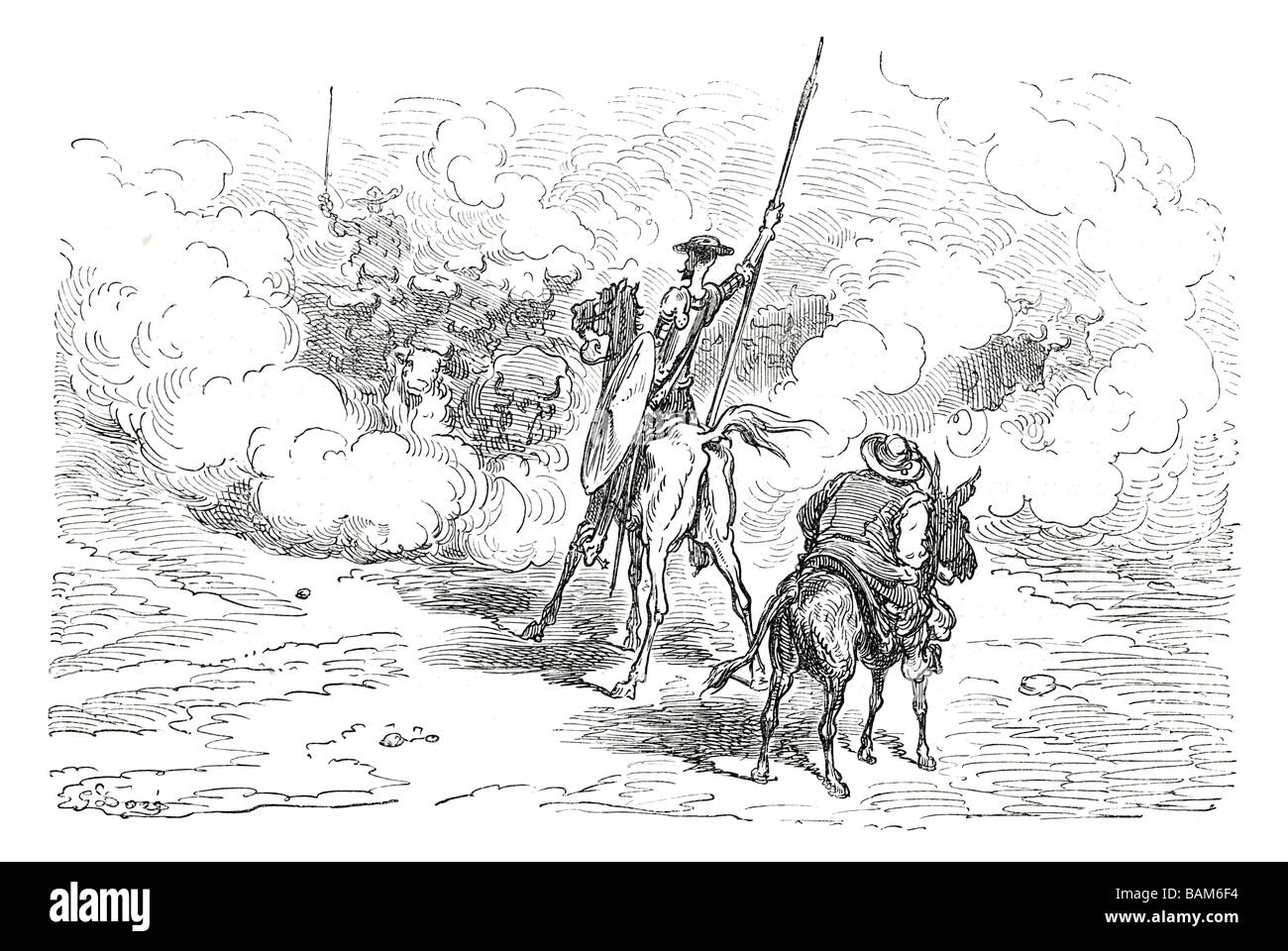 chapter LVIII 58 fifty eight Don quixote spanish novel Alonso Quixano Cervantes literature quest Stock Photo