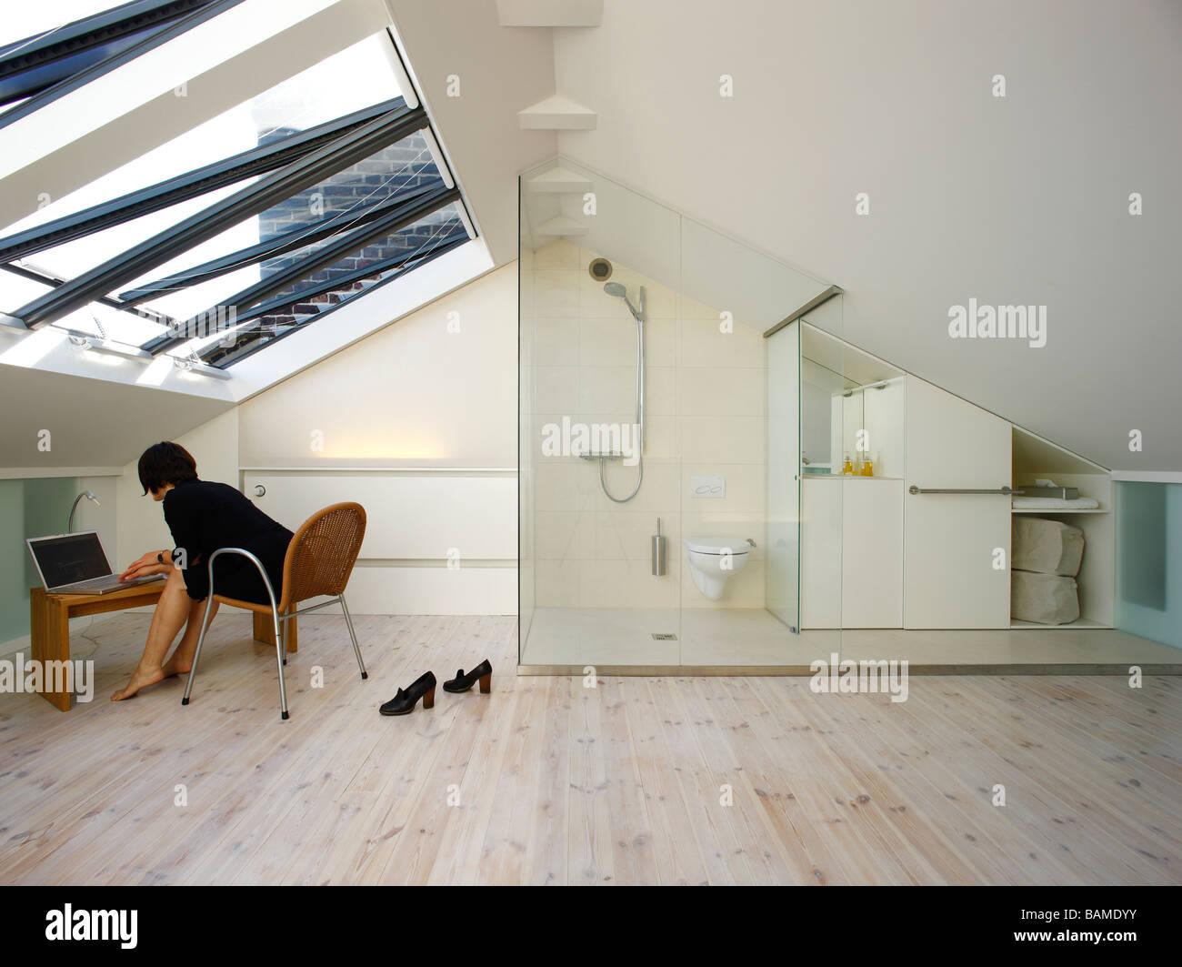 PRIVATE HOUSE, ULLMAYER SYLVESTER ARCHITECTS, LONDON, UNITED KINGDOM Stock Photo