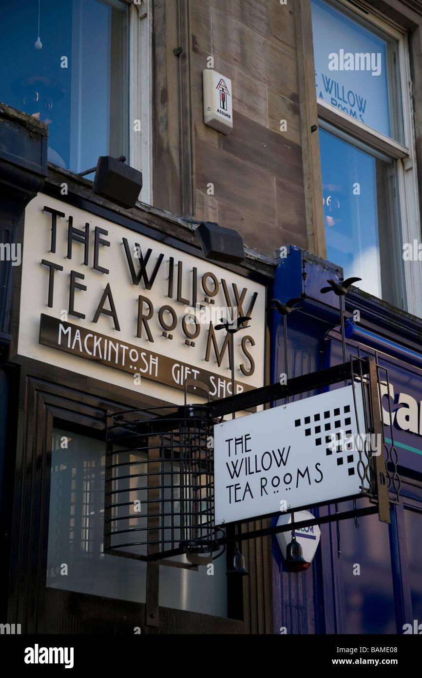 The Willow Tea Room, Buchanan Street Glasgow Scotland Stock Photo