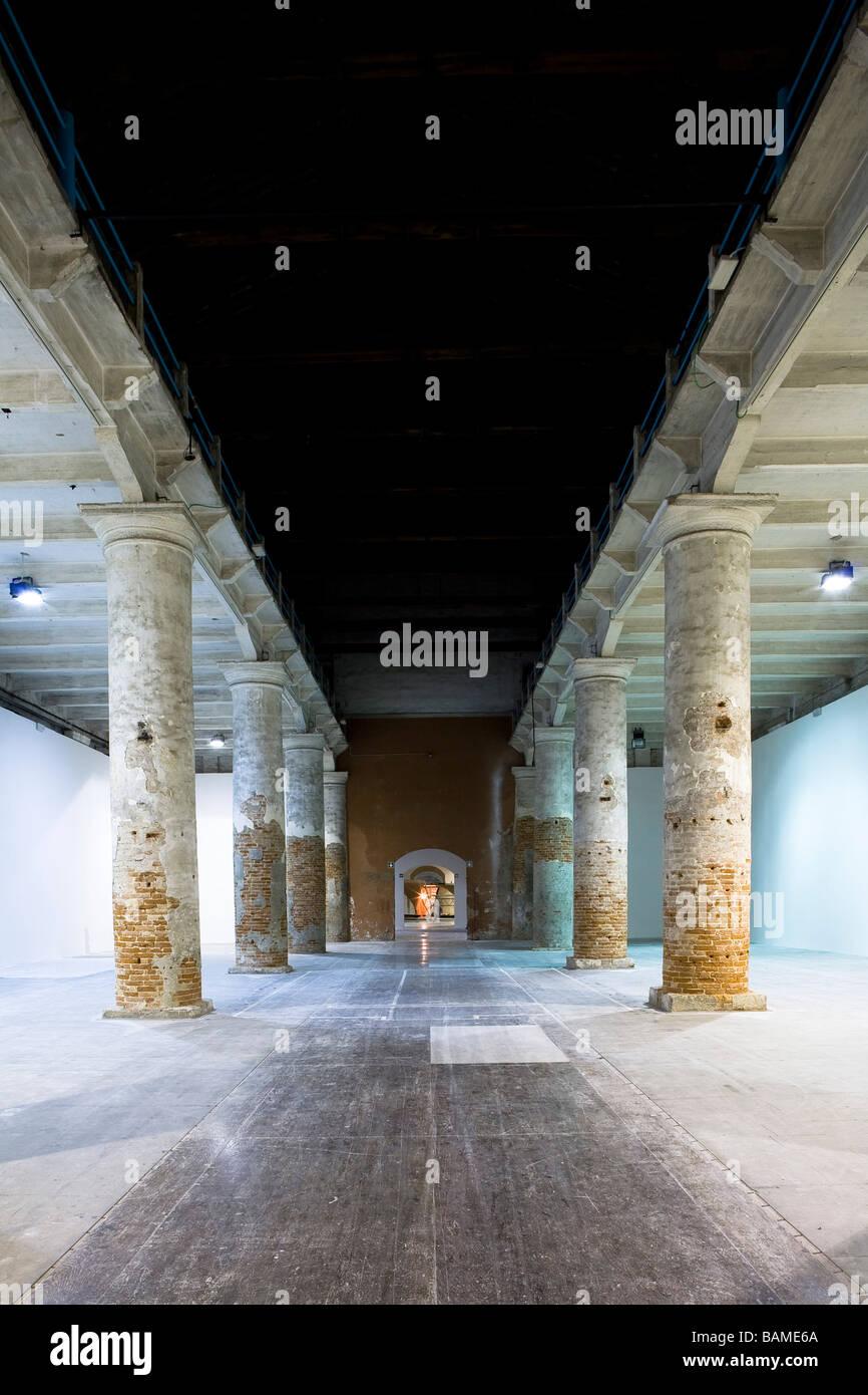 VENICE BIENNIAL, ARCHITECT UNKNOWN, VENICE, ITALY - Stock Image
