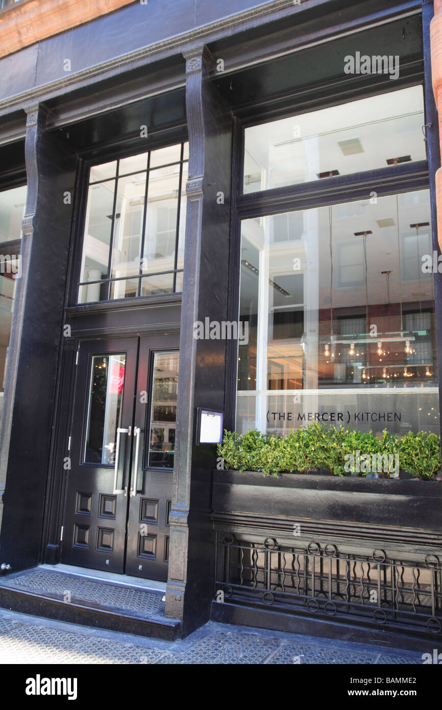 The Mercer Kitchen In Soho On Prince Street A Fine Dining Restaurant New  York City