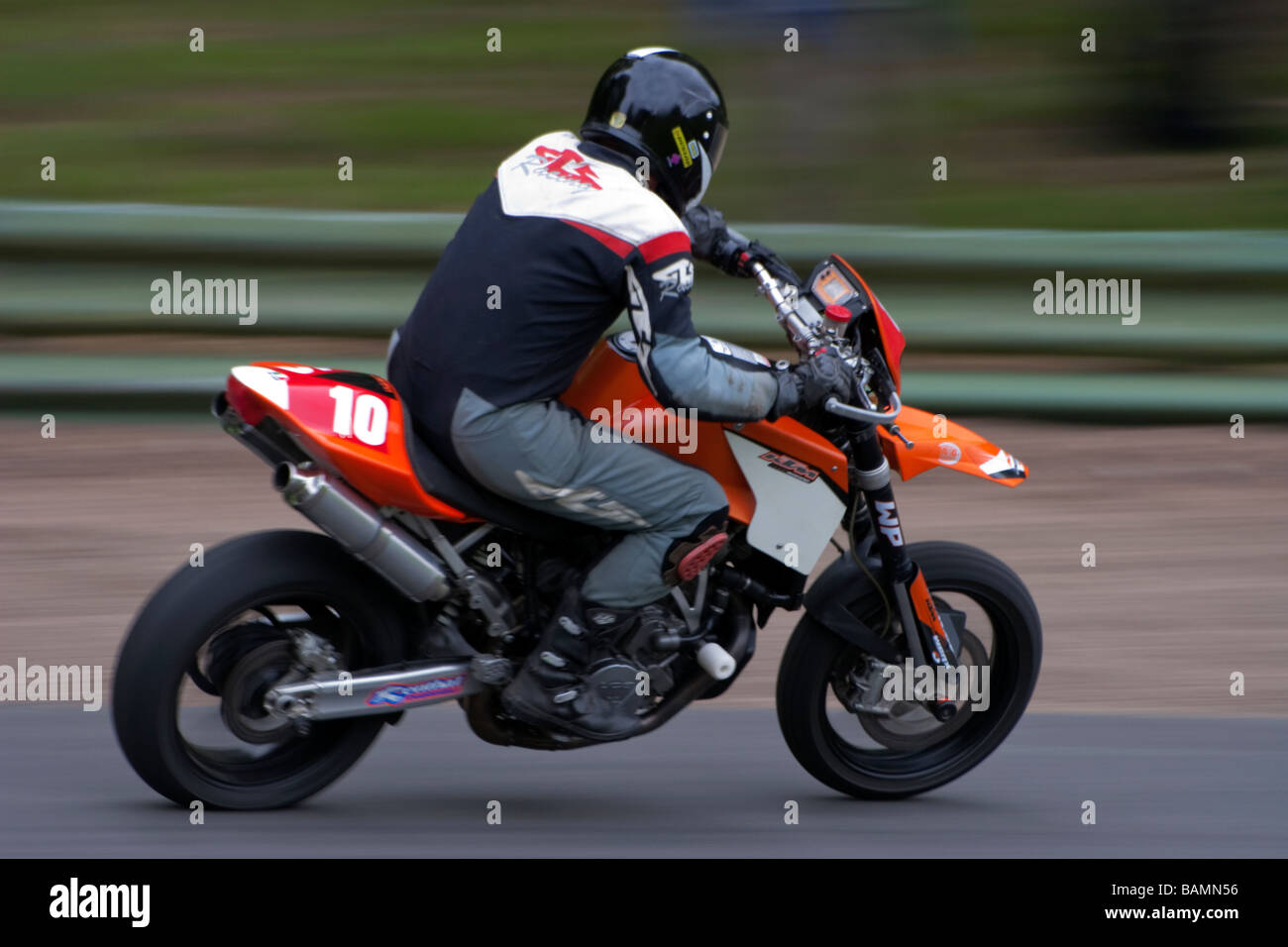 KTM 950cc Motorcycle - Stock Image
