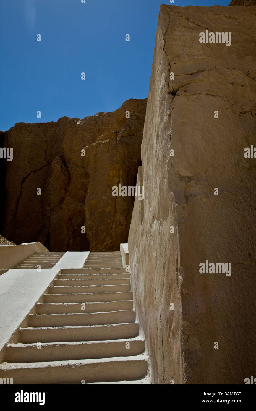 Valley of the Kings Thebes Luxor Egypt Africa - Stock Image