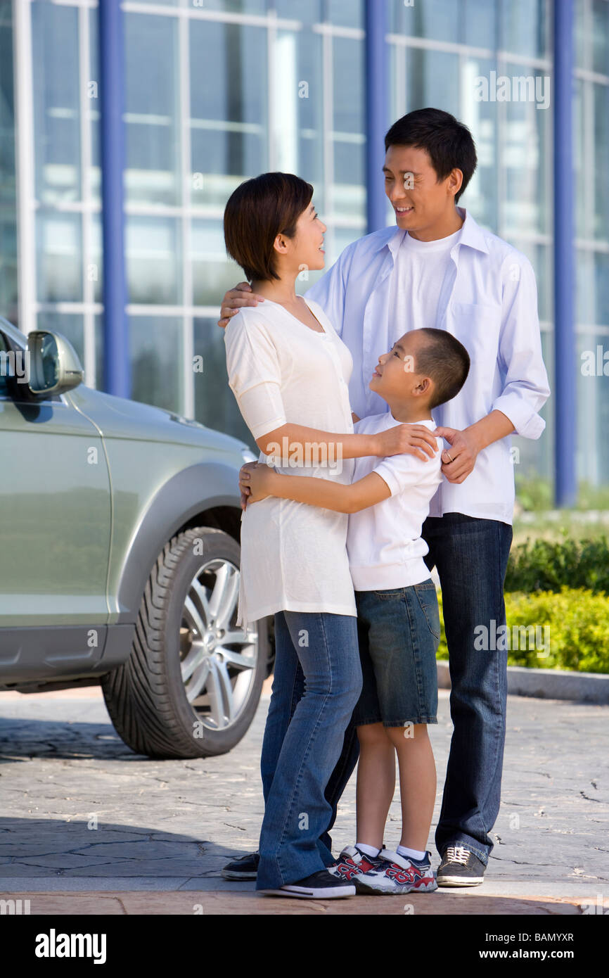 Buying a Family Car - Stock Image