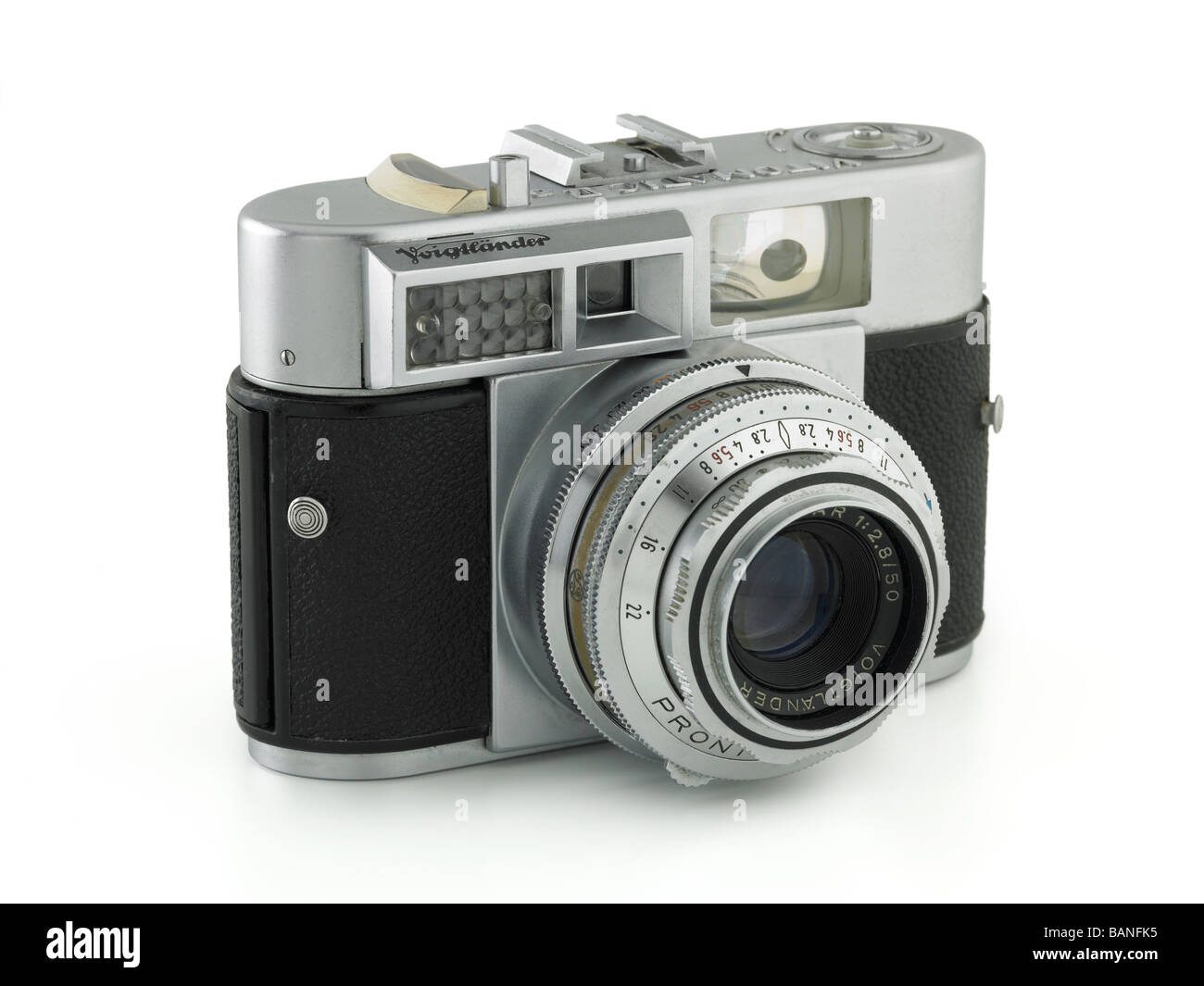Voigtlander camera circa 1956 - Stock Image