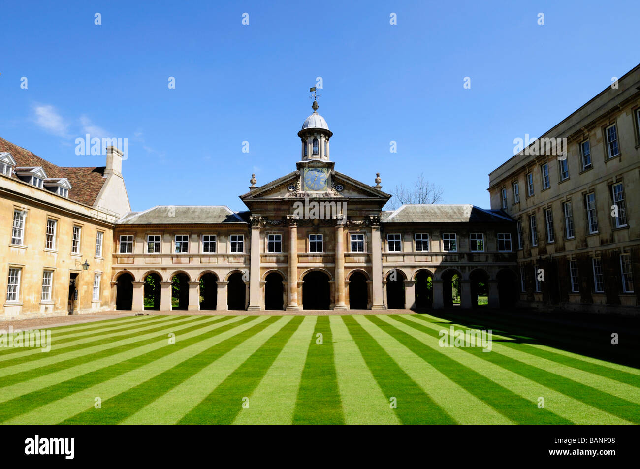 Emmanuel College Cambridge England UK - Stock Image