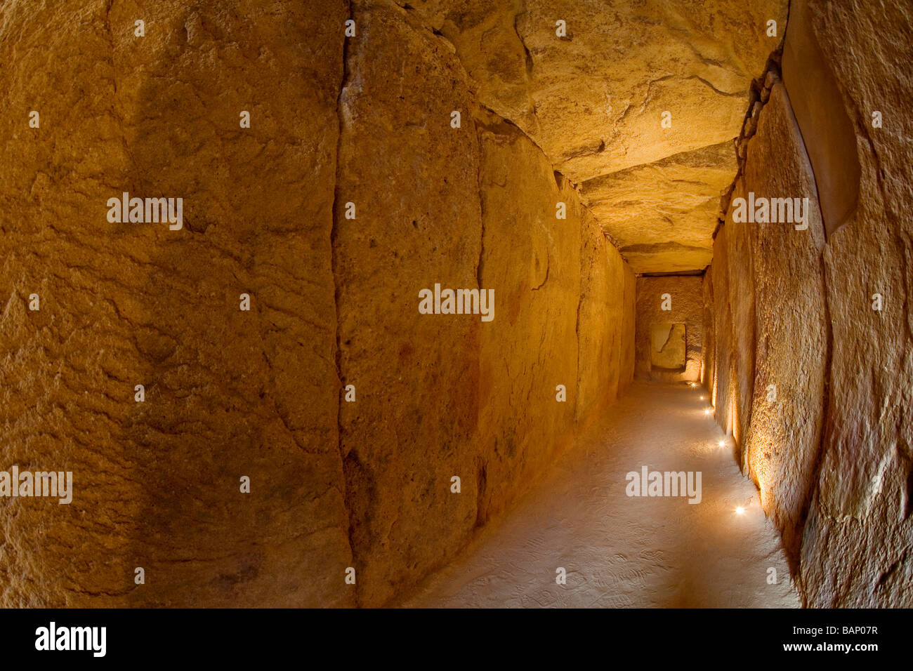 Megalithic Dolmens of Viera in Antequera Málaga Andalusia Spain - Stock Image