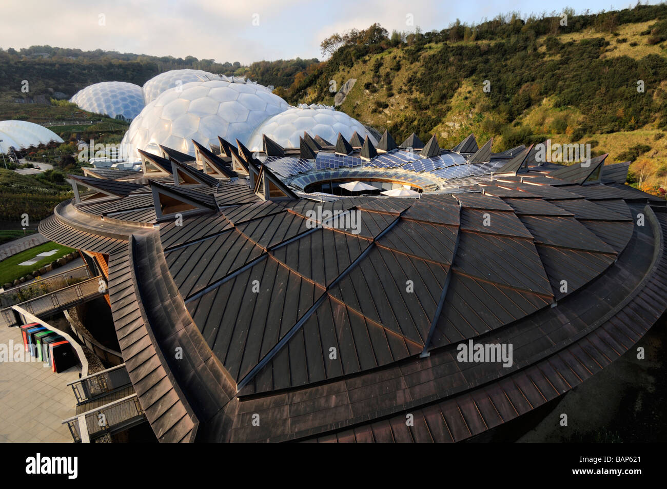 The core Biomes Eden project - Stock Image