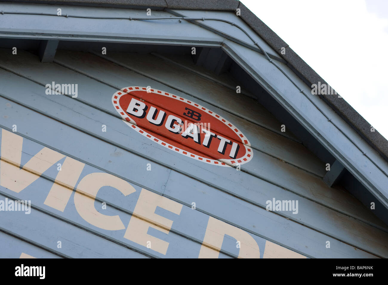 Bugatti Brooklands Stock Photo