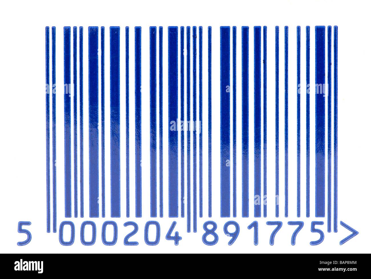 barcode barcodes bar code bar codes - Stock Image