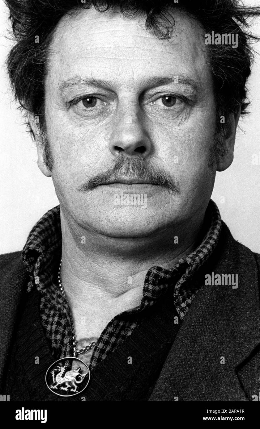 Julian Cayo Evans radical Welsh nationalist and leader of  Free Wales Army convicted of conspiracy to cause explosions - Stock Image