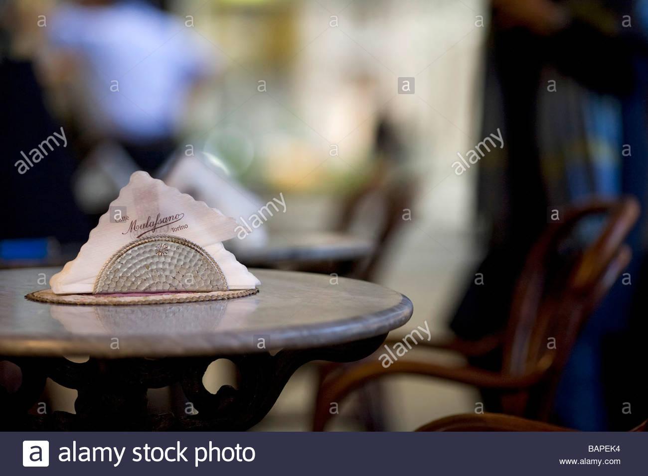 caff mulassano  turin  italy - Stock Image