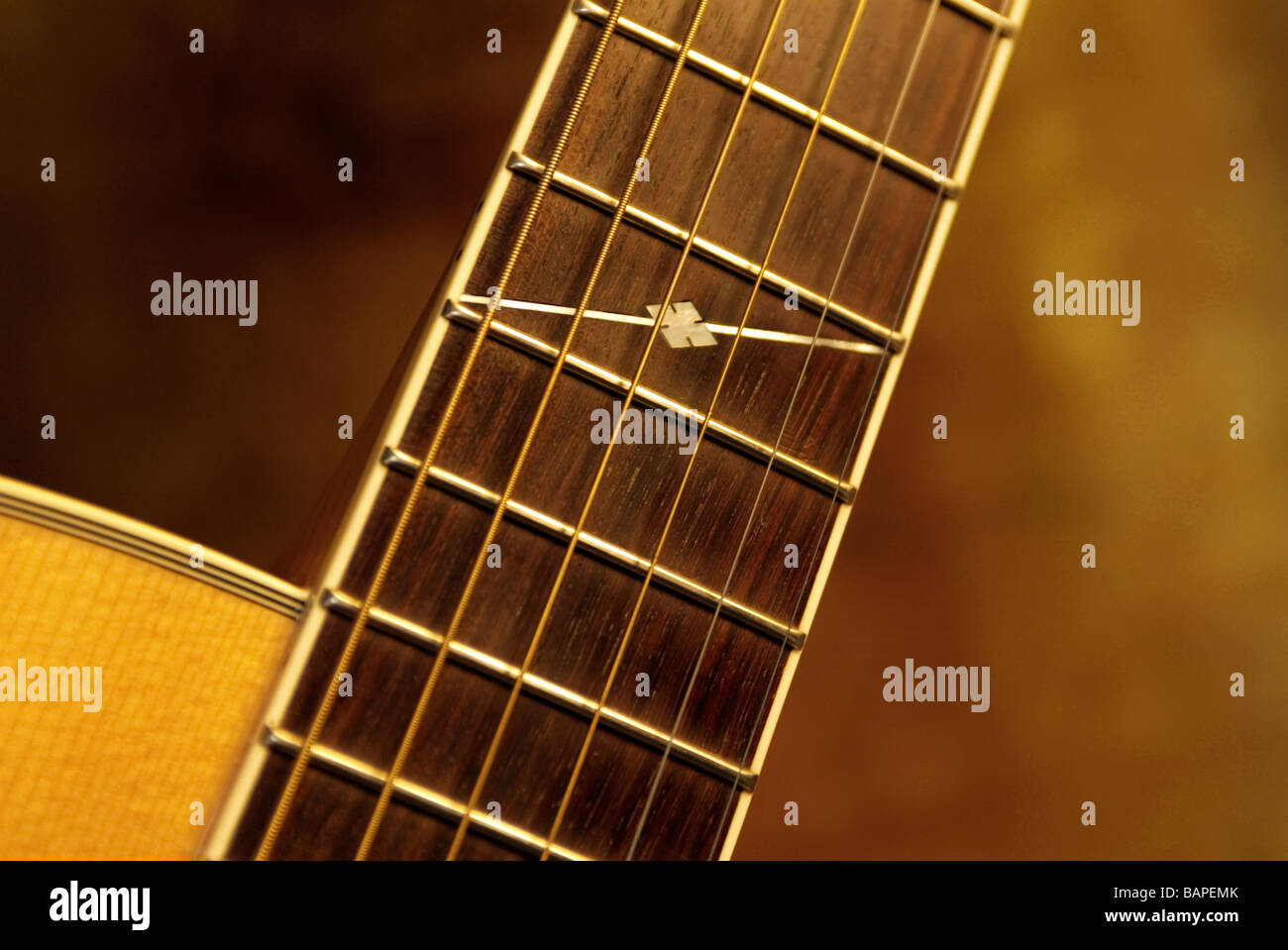 Rosewood Neck Stock Photos Images Alamy Alvarez Electric Guitar Wiring Diagram Steel String Jumbo Body Acoustic Made Of Maple With Frets And Strings