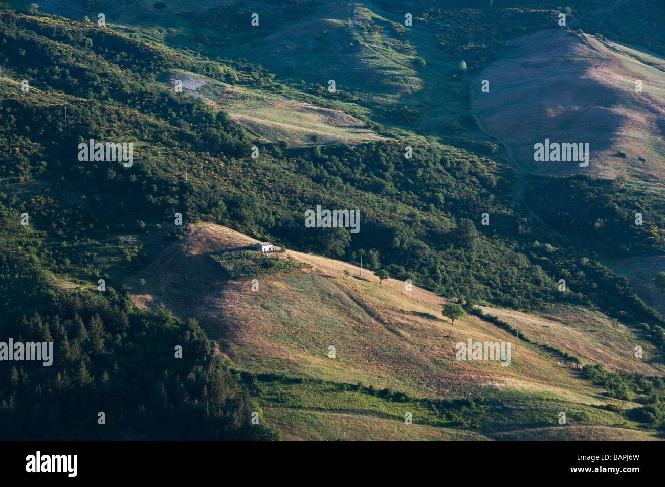 dolomiti lucane  basilicata  italy Stock Photo