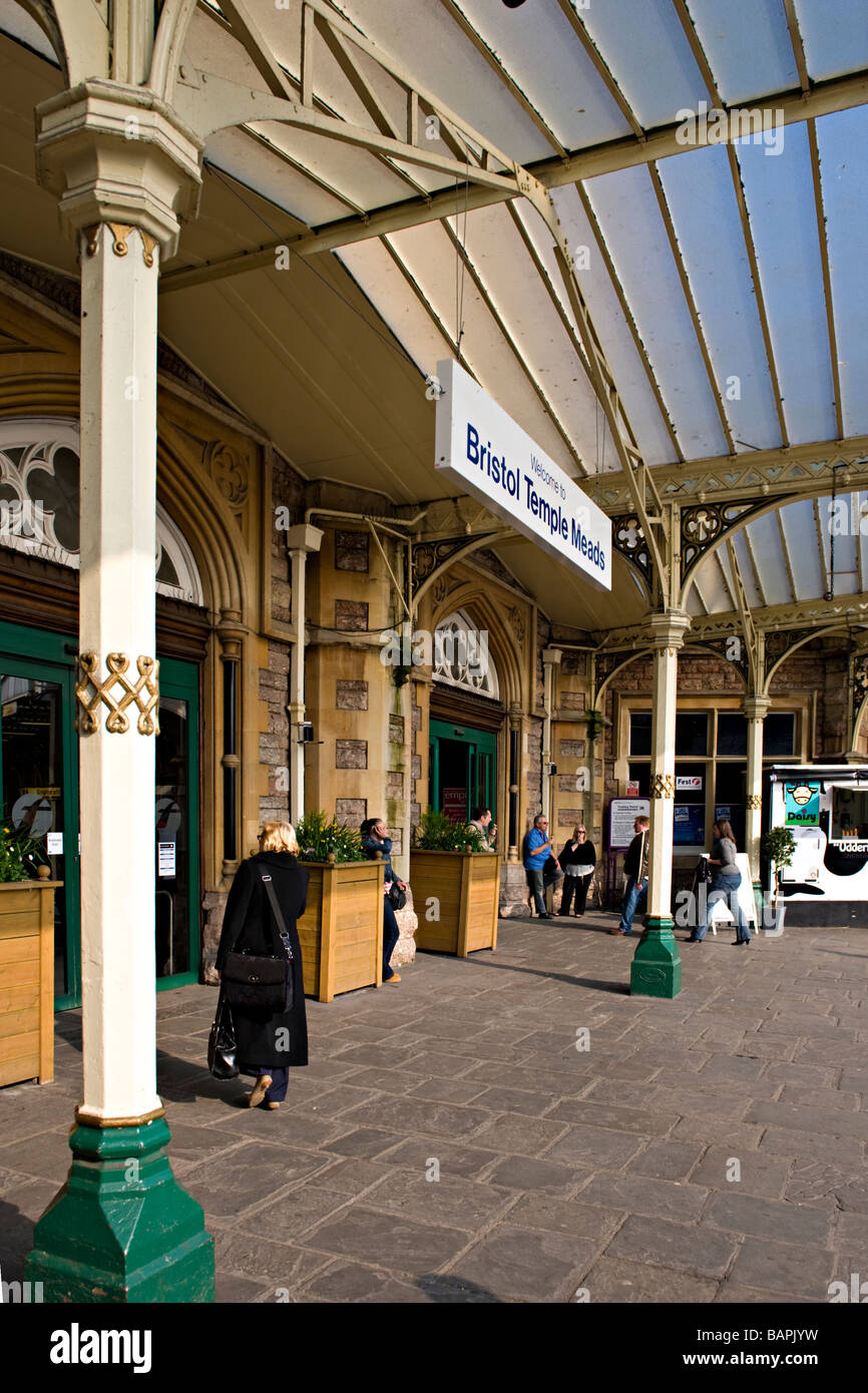 Bristol Temple Meads Railway Station. Stock Photo
