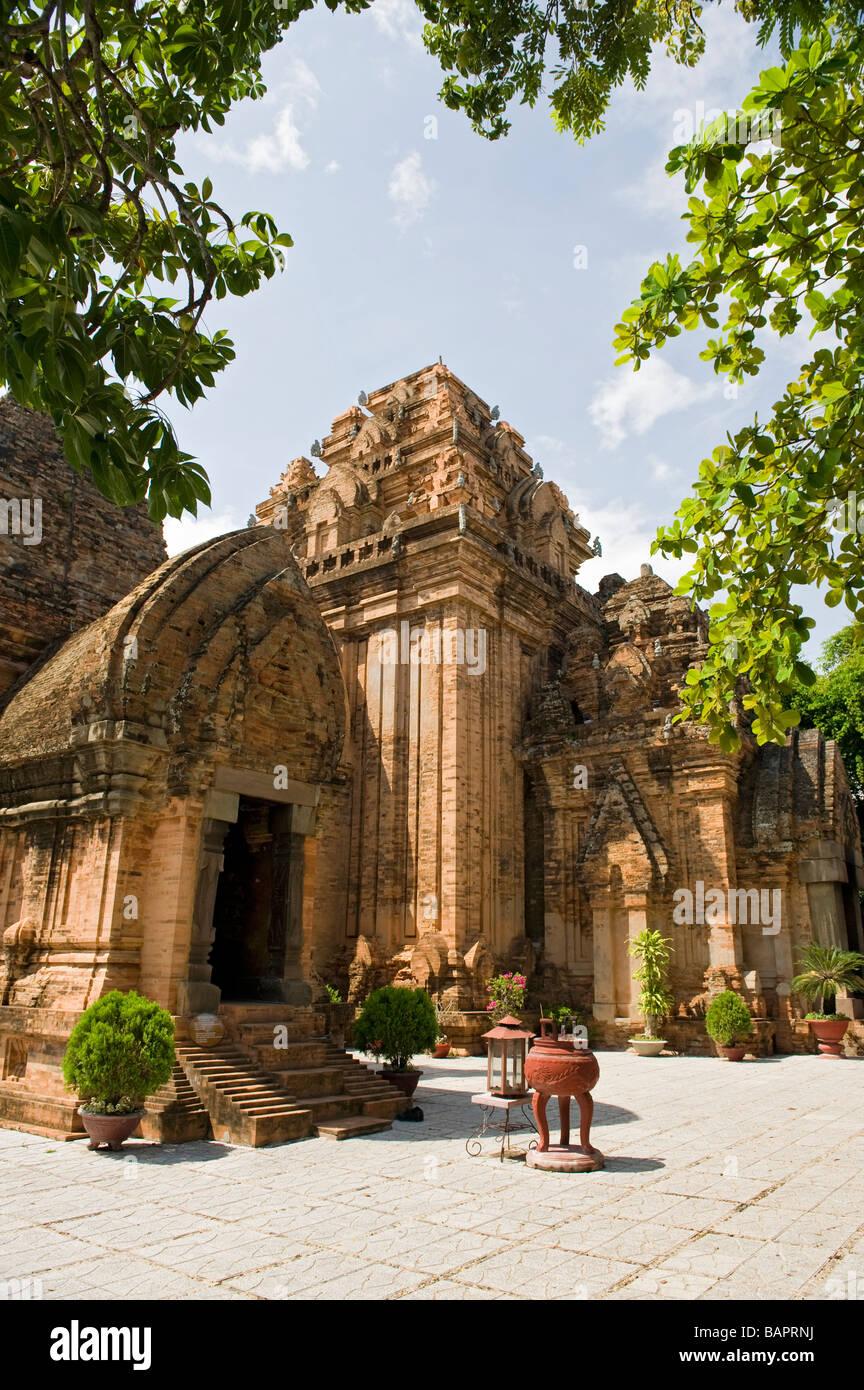 Cham Tower, Nha Trang, Vietnam - Stock Image
