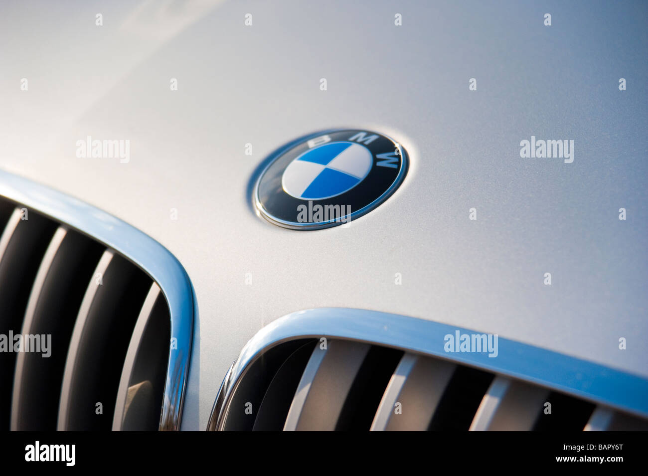 bmw x6 front close up with emblem stock photo 23861232 alamy. Black Bedroom Furniture Sets. Home Design Ideas