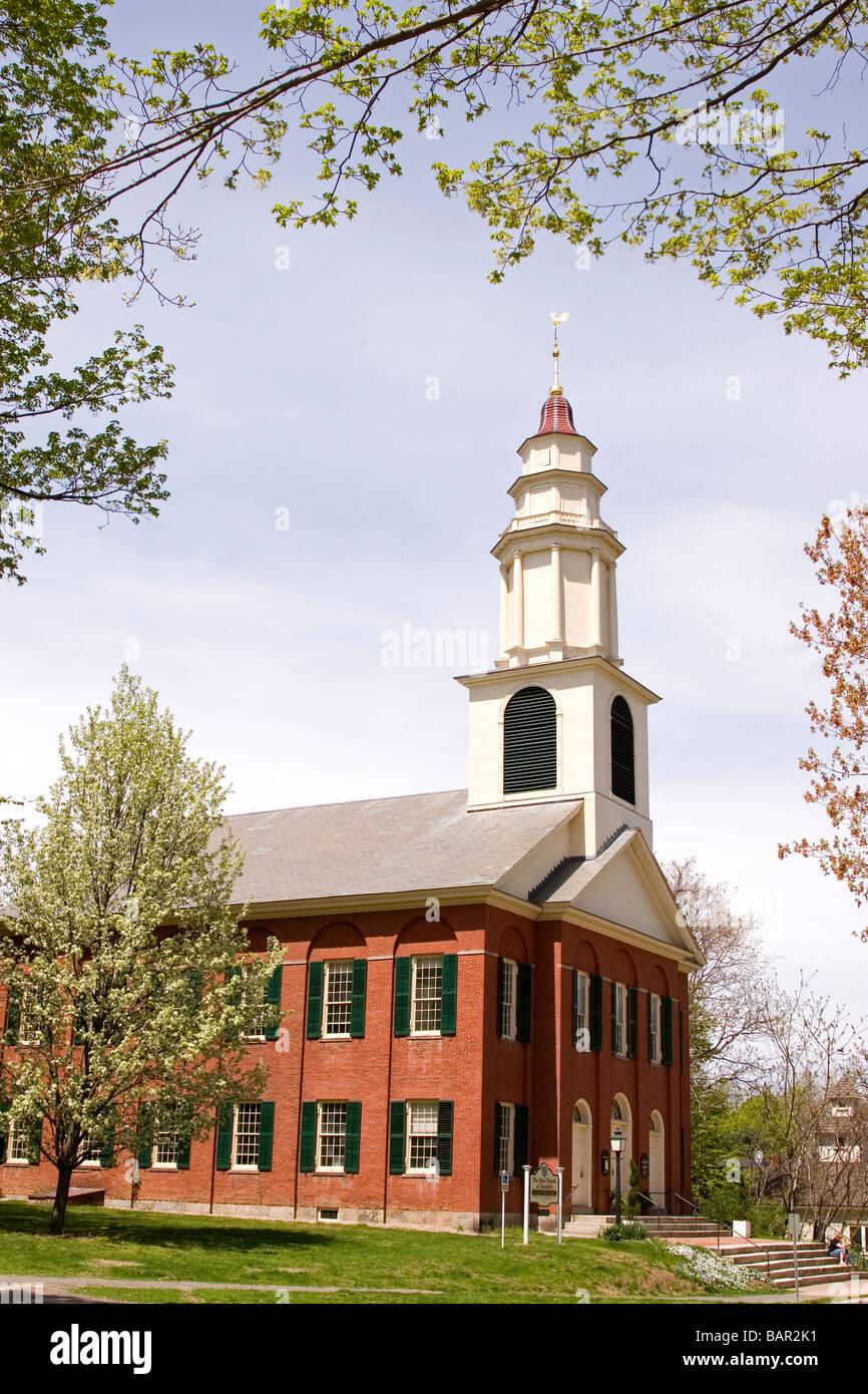 The First Church of Deerfield, Old Deerfield ...