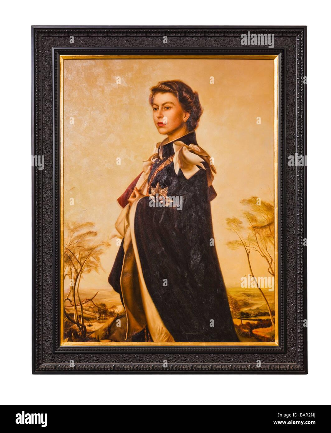 Queen Elizabeth II - Stock Image